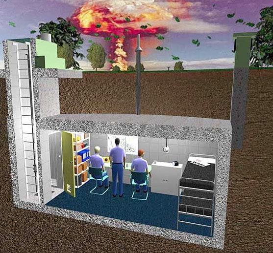 how to build an underground bunker using shipping containers
