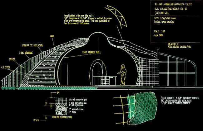 Underground home designs planning makes perfect for Underground house blueprints